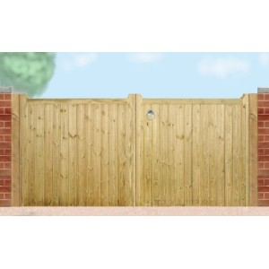 Drayton Flat Top Double Gates