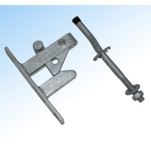 Self-Locking Gate Latch