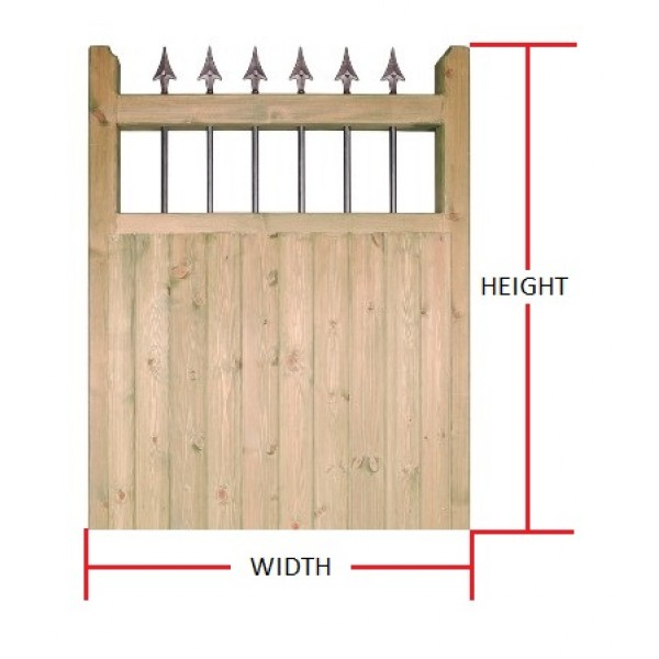 Made to Measure Hampton Single Gate