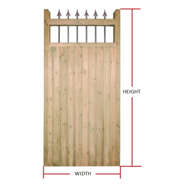 Made to Measure Hampton Tall Single Gate