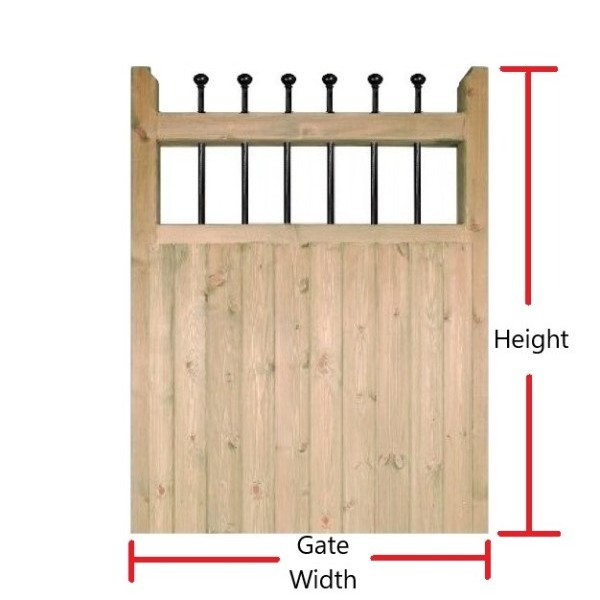 Made to Measure Kensington Single Gate