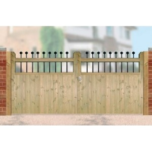 Kensington Double Gates