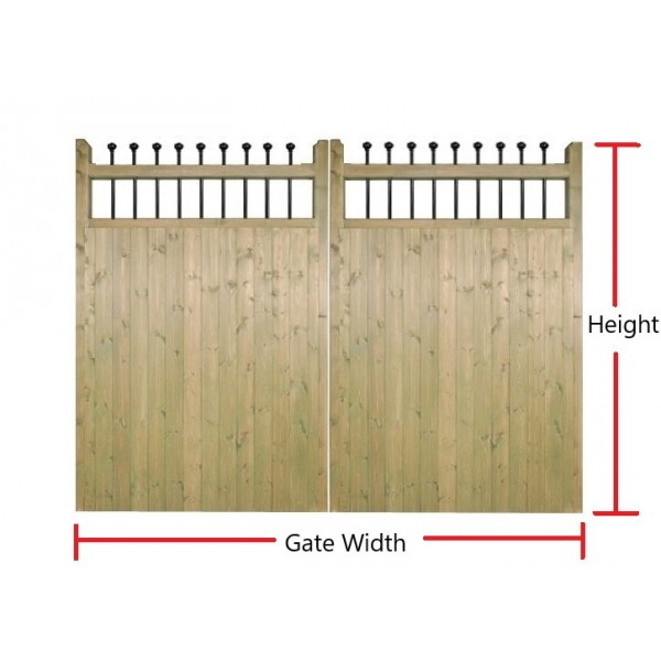 Made to Measure Kensington Estate Gate