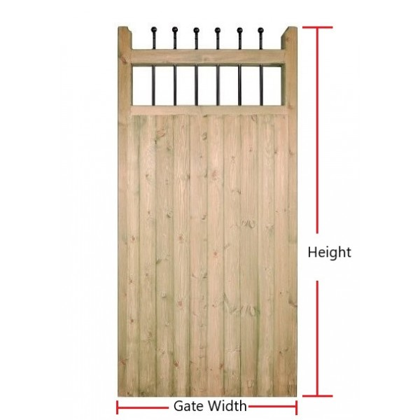 Made to Measure Kensington Tall Single Gate