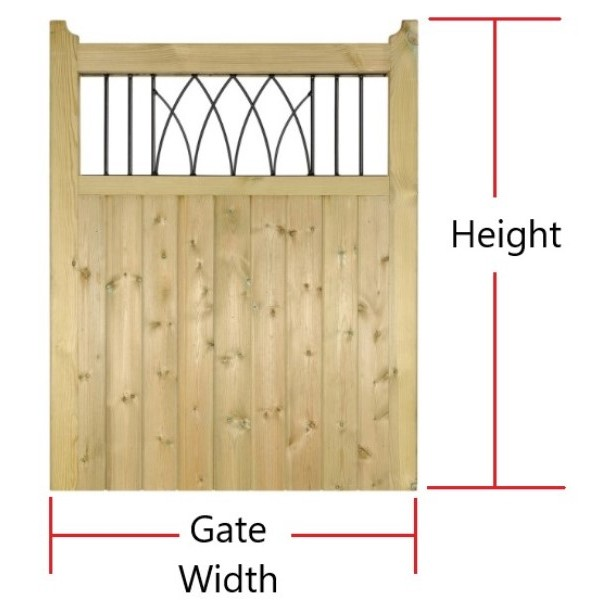 Made to Measure Windsor Single Gate