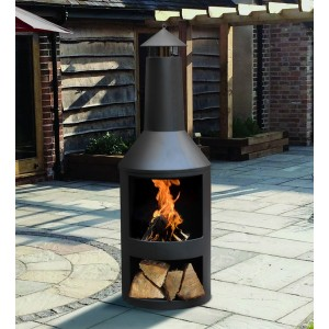 Outdoor Log Burner
