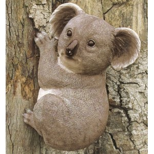 Climbing Koala Resin Ornament
