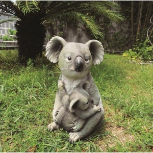 Seated Koala with Joey Resin Ornament