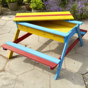 Childrens Activity Picnic Bench