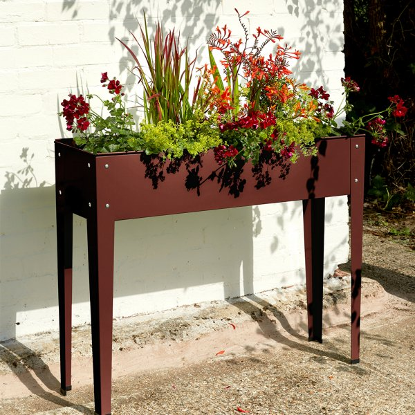 Tall Metal Planter