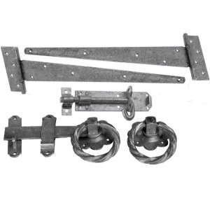 Decorative Single Gate Fittings Pack