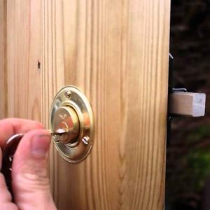 "Cays 2"" Throw Gate Lock"