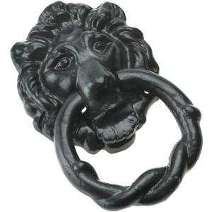 Decorative Lion's Head Door Knocker