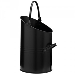 Ellipse Black Coal Hod