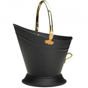 Black & Brass Waterloo Coal Bucket