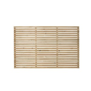 Slatted Fence Panel 180 x 120cm