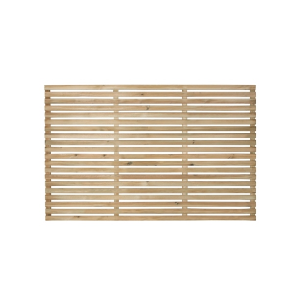 Slatted Fence Panel 180 x 120cm
