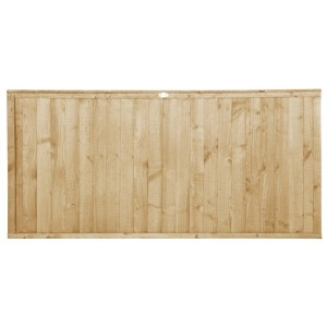 Closeboard Pressure Treated Fence Panel 3ft