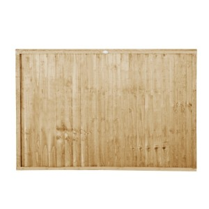 Closeboard Pressure Treated Fence Panel 4ft