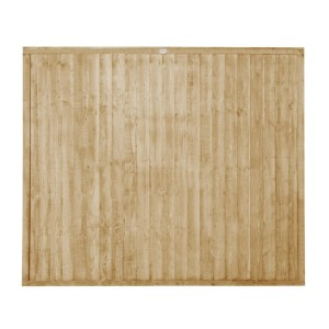Closeboard Pressure Treated Fence Panel 5ft