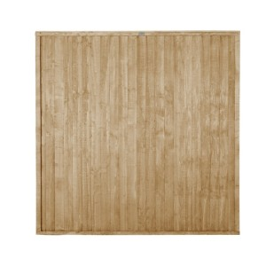 Closeboard Pressure Treated Fence Panel 6ft