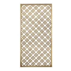 Double Slatted Diamond Lattice 180 x 90cm