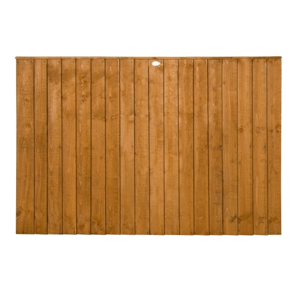 Featheredge Fence Panel 4ft