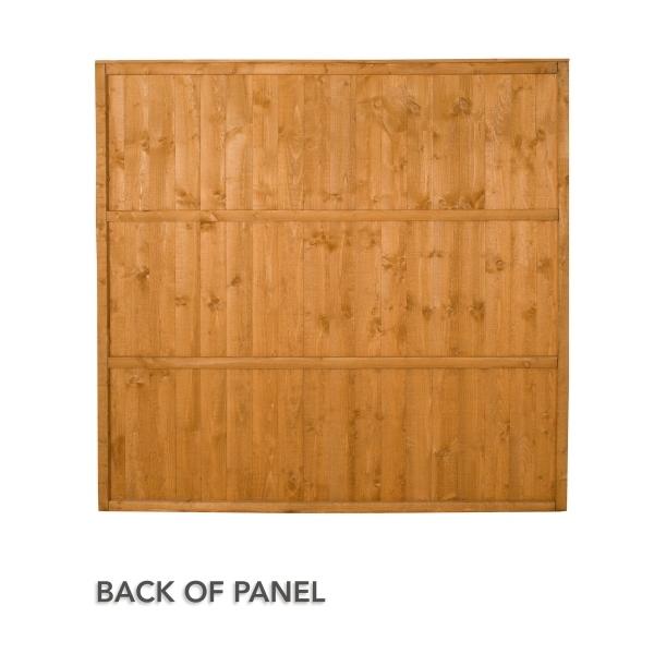 featheredge fence panel 4ft. Black Bedroom Furniture Sets. Home Design Ideas
