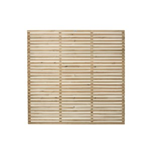Slatted Fence Panel 6ft