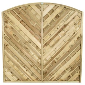 Europa Bradville Fence Panel 6ft