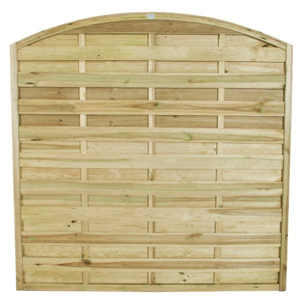 Europa Domed Fence Panel 6ft