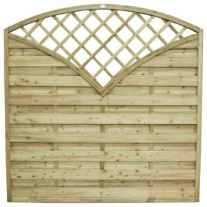 Europa Finedon Fence Panel 6ft