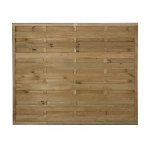 Europa Plain Fence Panel 5ft