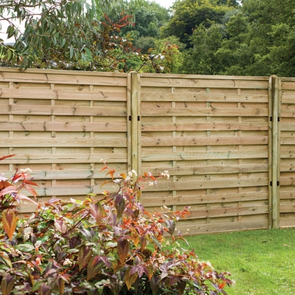 Europa Plain Fence Panel 6ft