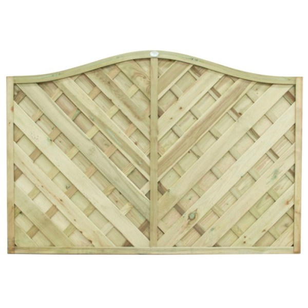 Europa Strasburg Fence Panel 4ft