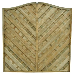 Europa Strasburg Fence Panel 6ft