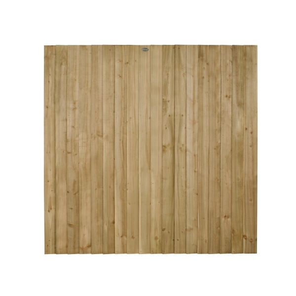 Featheredge Fence Panel 6ft (Pressure Treated)