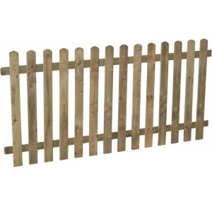 Heavy Duty Pale Fence Panel 3ft