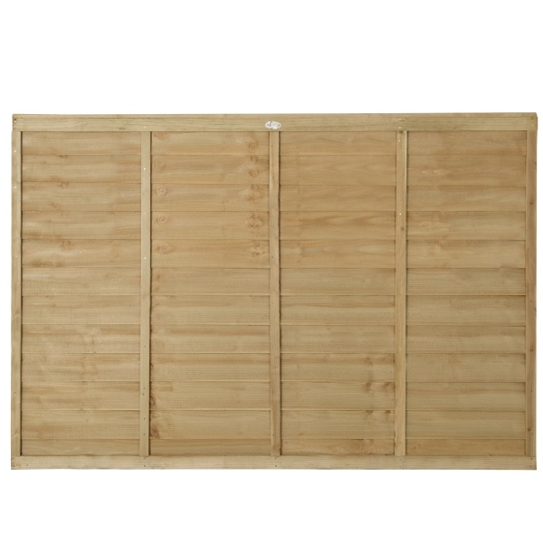 Superlap Fence Panel 4ft