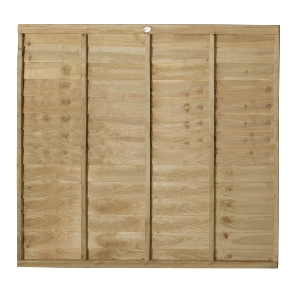 Superlap Fence Panel 6ft