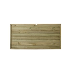 Tongue and Groove Horizontal Board Fence Panel 3ft