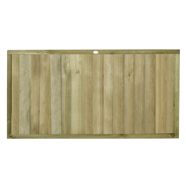 Tongue and Groove Vertical Board Fence Panel 3ft