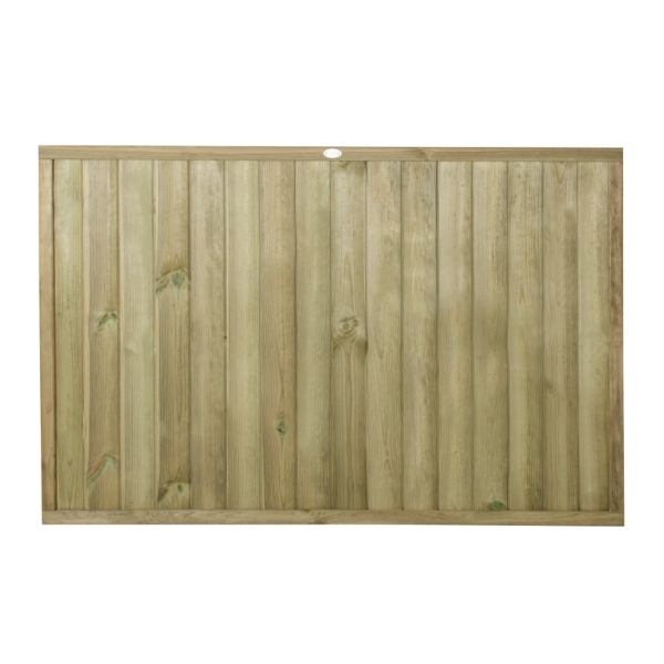 Tongue and Groove Vertical Board Fence Panel 4ft