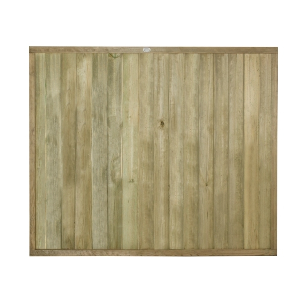 Tongue and Groove Vertical Board Fence Panel 5ft