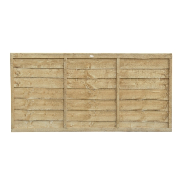 Trade Lap Fence Panel 3ft (Pressure Treated)
