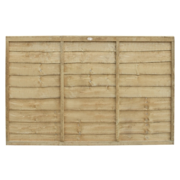 Trade Lap Fence Panel 4ft (Pressure Treated)