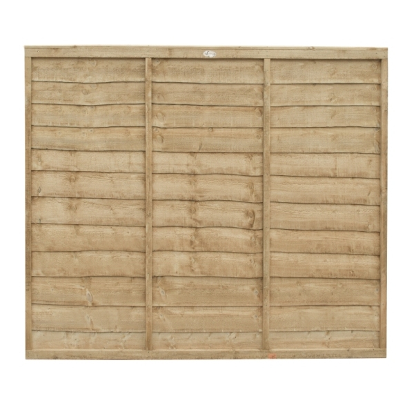 Trade Lap Fence Panel 5ft (Pressure Treated)