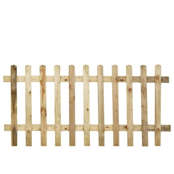 Ultima Pale Picket Fence Panel 3ft
