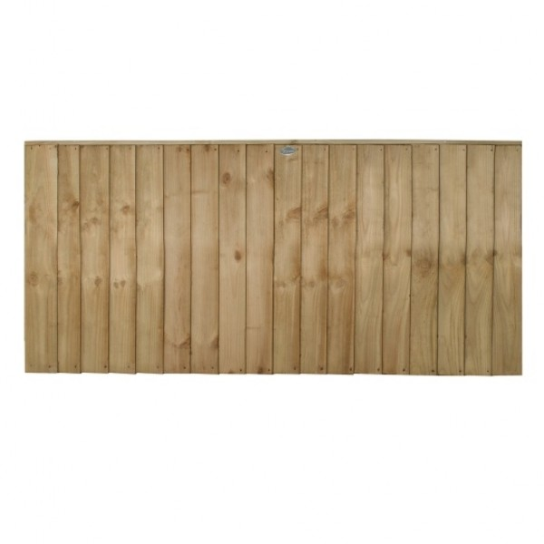Vertical Board Fence Panel 3ft