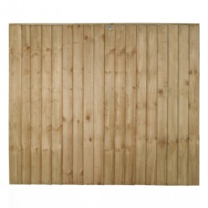 Vertical Board Fence Panel 5ft